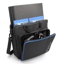 جديد لون حقيبة يد حقيبة ل PS4/PS4 برو سليم الحجم الأصلي حماية الكتف حقيبة حمل حقيبة قماش ل بلاي ستيشن 4 وحدة التحكم
