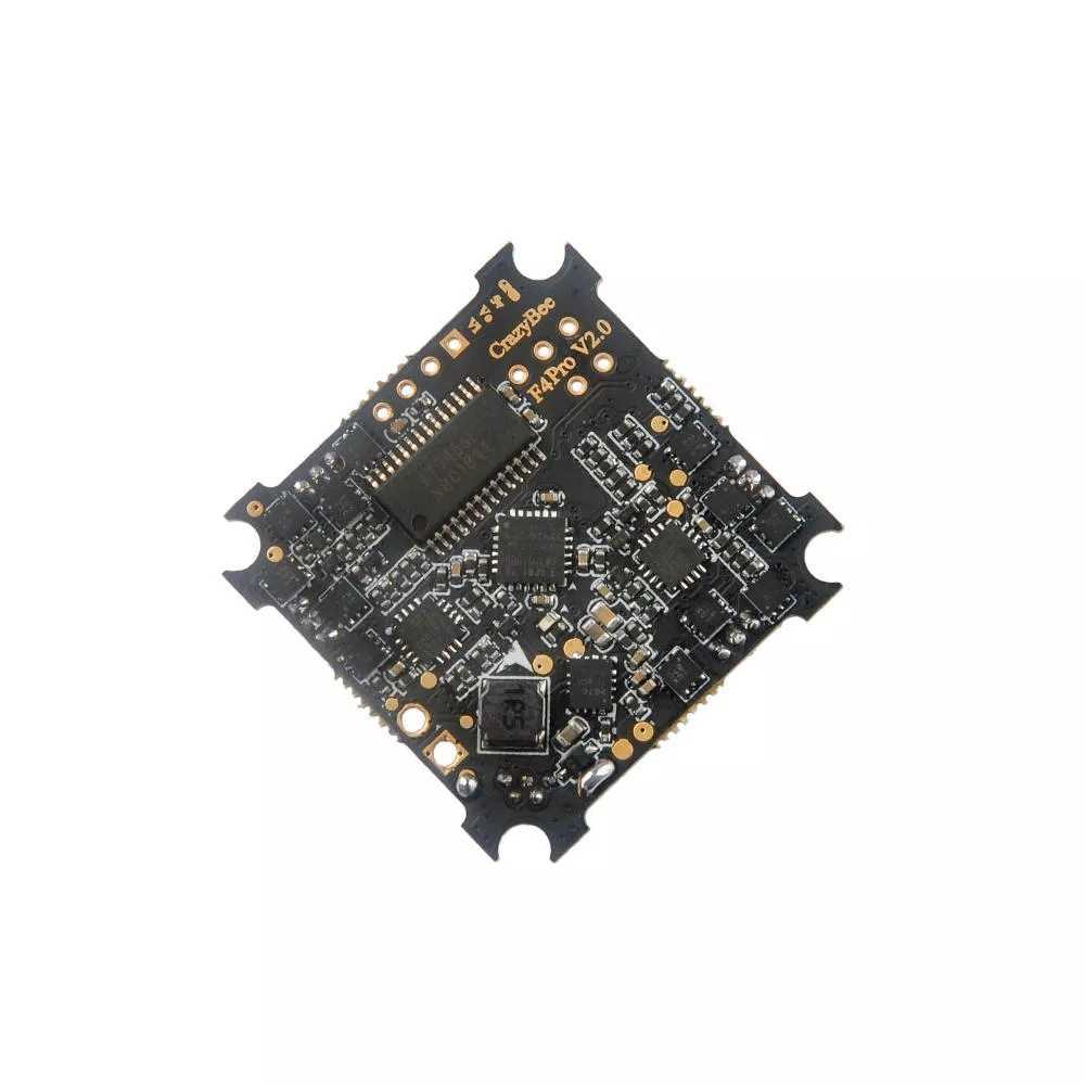 Happymodel fou F4 Pro V2.0 Mobula7 HD 1-3S contrôleur de vol avec ESC 5A et récepteur Flysky/Frsky/DSMX Compatible