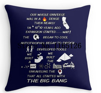New Arrival BIG BANG THEORY THEME SONG Luxury Print Square Pillowcase Nice Pillow Cover Free Shipping