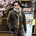 Männer 2018 schlank mode winter Herbst baumwolle faux leder jacke männer hohe qualität motorrad jacke männer neue design zipper outwear|Jacken|Herrenbekleidung -