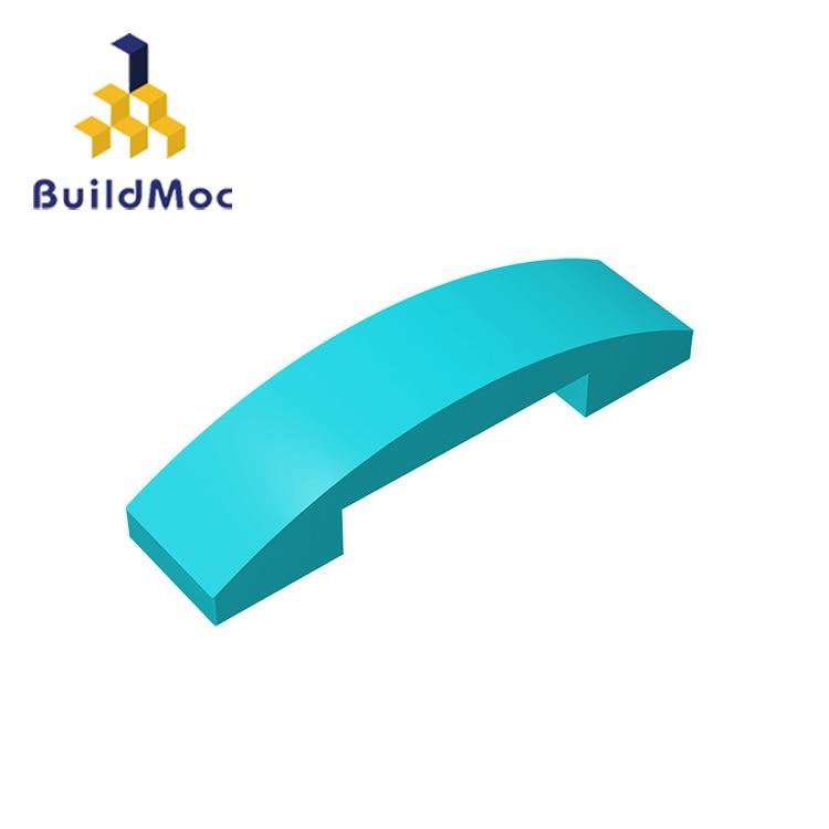 BuildMOC Compatible Assembles Particles 93273 4x1 For Building Blocks Parts DIY LOGO Educational Creative Gift Toys