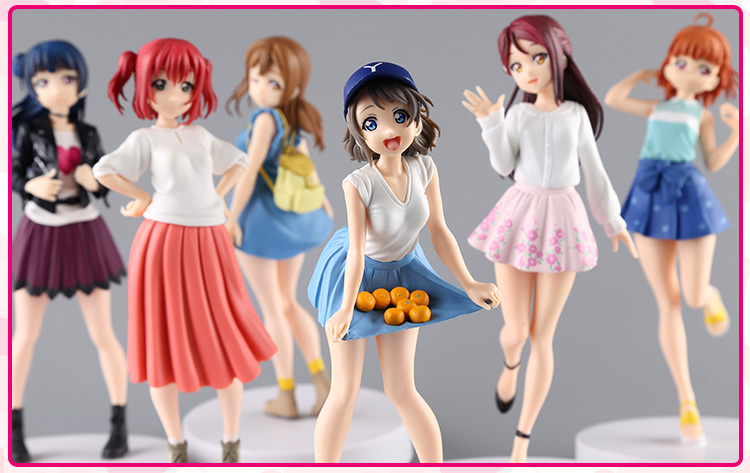17cm Japanese original anime figure Lovelive!Sunshine!!action figure collectible model toys for boys 17cm japanese original anime figure sega terraformars adolf reinhard action figure collectible model toy for boys