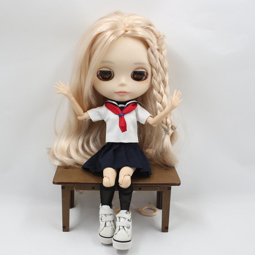 Neo Blythe Doll Sailor Uniform With Leggings 6