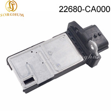 New Mass Air Flow Meter MAF Sensor For Nissan X-Trail Qashqai Navara 226807S000 22680-CA000 22680-AW400 AFH70M-38 цена