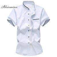 5XL 6XL 7XL Men S Shirt Summer Big Size Oxford Fabric Business Casual Short Sleeve Shirt