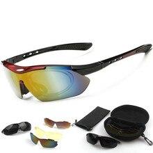 цены на Cycling Glasses UV400 Outdoor Ridding Goggle Sunglasses Sports Glasses For Bicycle 5Lines Men Women Cycling Eyewear  в интернет-магазинах
