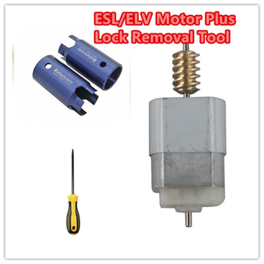 Free shipping esl elv motor steering lock wheel motor for for Steering wheel lock mercedes benz