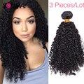 3B 3C Textura Mongol Kinky Curly Hair Bundles Kinky Rizado Pelo de la Virgen, Cheap Mongol Afro Rizado Rizado Pelo de la Virgen