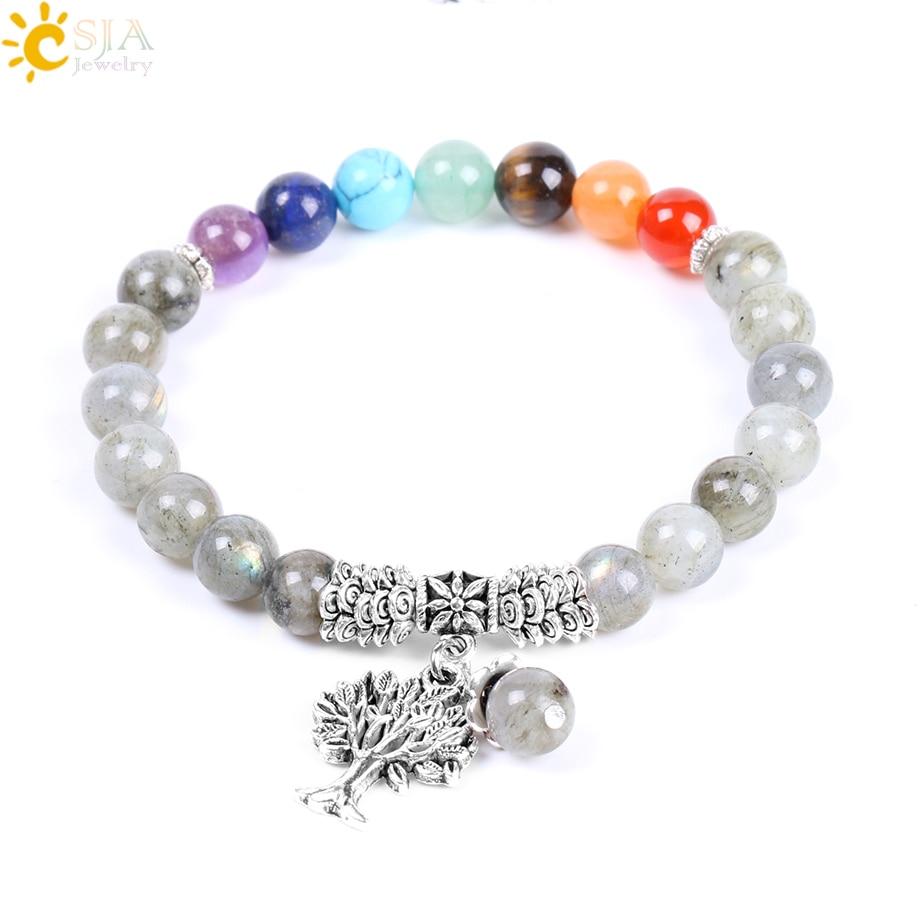 bracelet chakra pierre naturelle femme