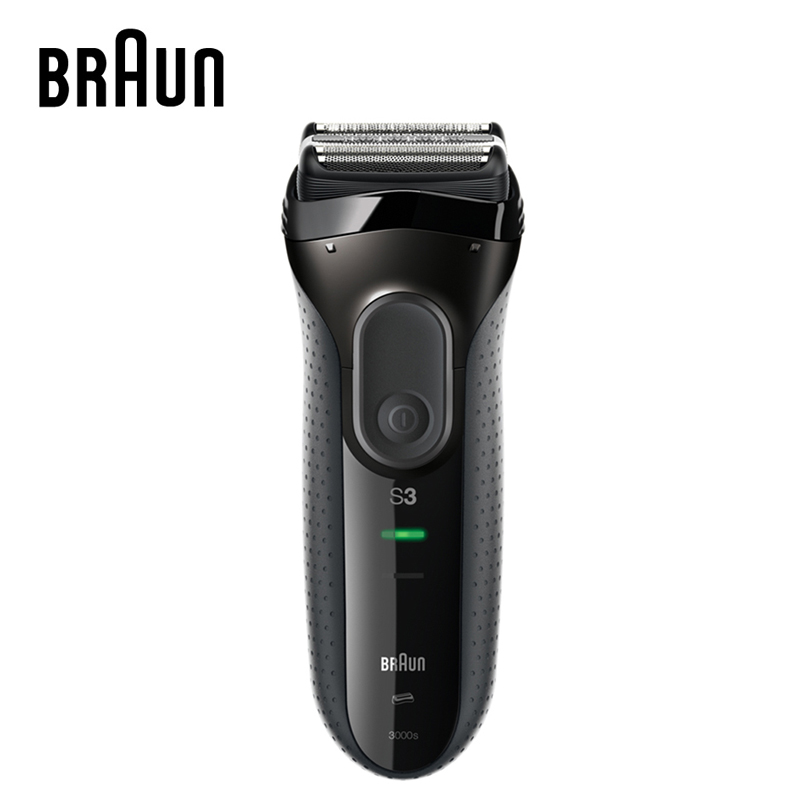 Braun Series 3 Electric Shavers 3000S Razor Blades Rechargeable High Grade Electric Shaver Razors For Men braun electric shavers 5030s rechargeable reciprocating blades high quality shaving safety razors for men