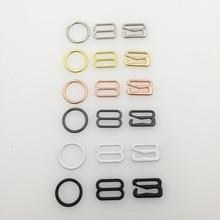 20шт 6мм30мм металлический ремень для бюстгальтера пряжки для регулировки нижнего белья ползунки кольца зажимы для регулировки нижнего белья DIY аксессуары