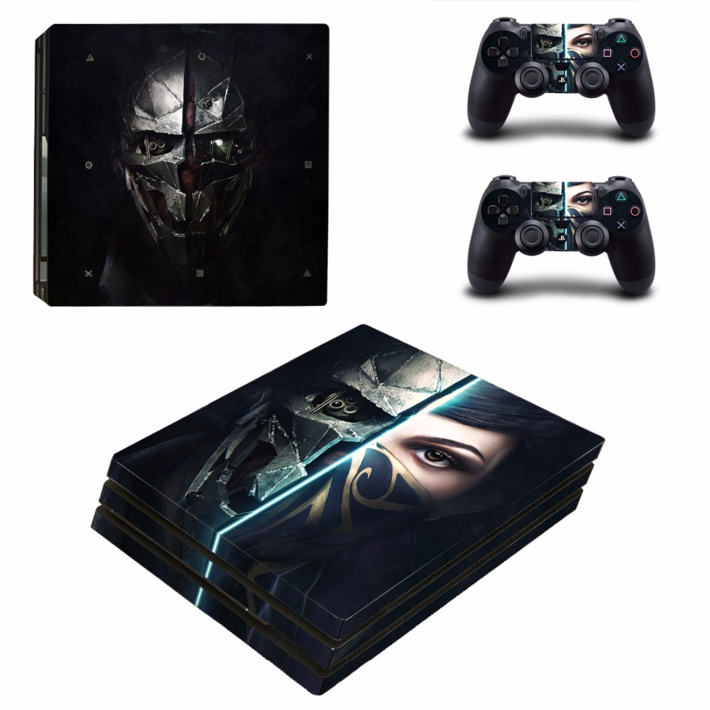OSTSTICKER Ninja Vinyl Skin Sticker For PS4 Pro Decal for Playstation 4 Pro Console and Controller Skin Sticker Decal