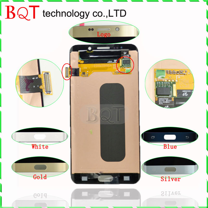 High Quality G928 LCD for Samsung Galaxy S6 Edge Plus LCD Digitizer with font b Touch