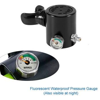 Diving Equipment Pressure Gage Mini Diving Oxygen Cylinder Scuba Tank Head Parts Diving Equipment цена 2017