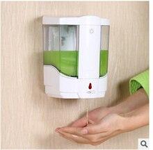2016 800 мл автоматический датчик для жидкого мыла база настенные ABS сенсорный — бесплатная Sanitizer пена мыла