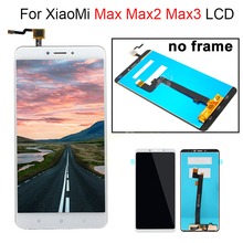 For Xiaomi Mi Max Max 2 3 LCD Display Touch Screen Digitizer Assembly For Xiaomi Mi Max2 LCD Max3 Screen Replacement Black Whit lcd display screen and touch digitize assembly for xiaomi mi max white color with assuring