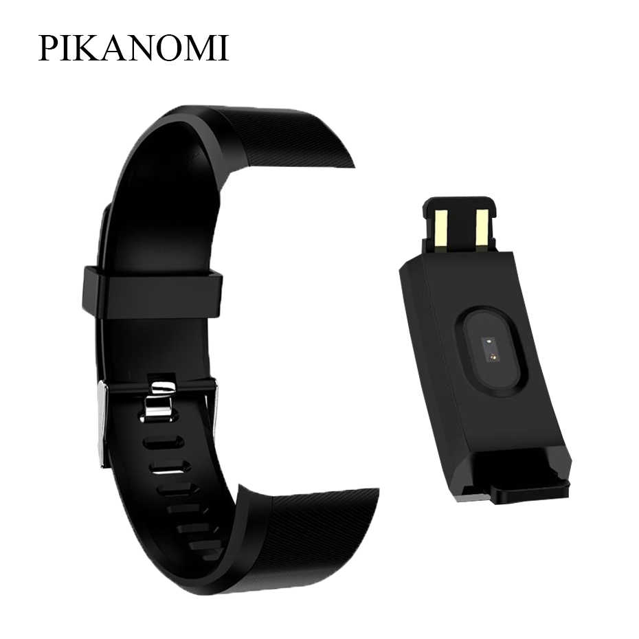 Colorful 115 Plus Wrist Strap Replacement Silicone Strap Smart Wristband Strap Adult Children Sport Smart Wearable Accessories