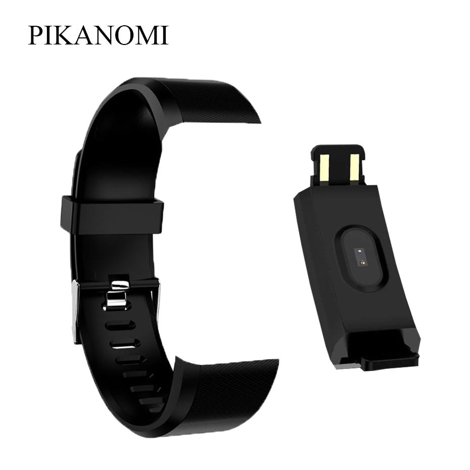 Colorful 115 Plus Wrist Strap Replacement Silicone Strap Smart Wristband Strap Adult Children Sport Smart Wearable Accessories