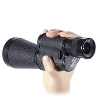Metal 12X45 Russian Military Monocular HD High quality Portable mini telescope Captain caribbean pirates Spyglass