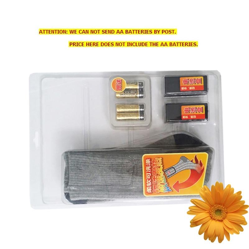 1 par envío libre 1.5 V batería AA calefacción térmica Calcetines ...