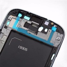 100 New Original Retail For Samsung Galaxy S3 III i9305 Frame Front Bezel Housing Cover Replacement