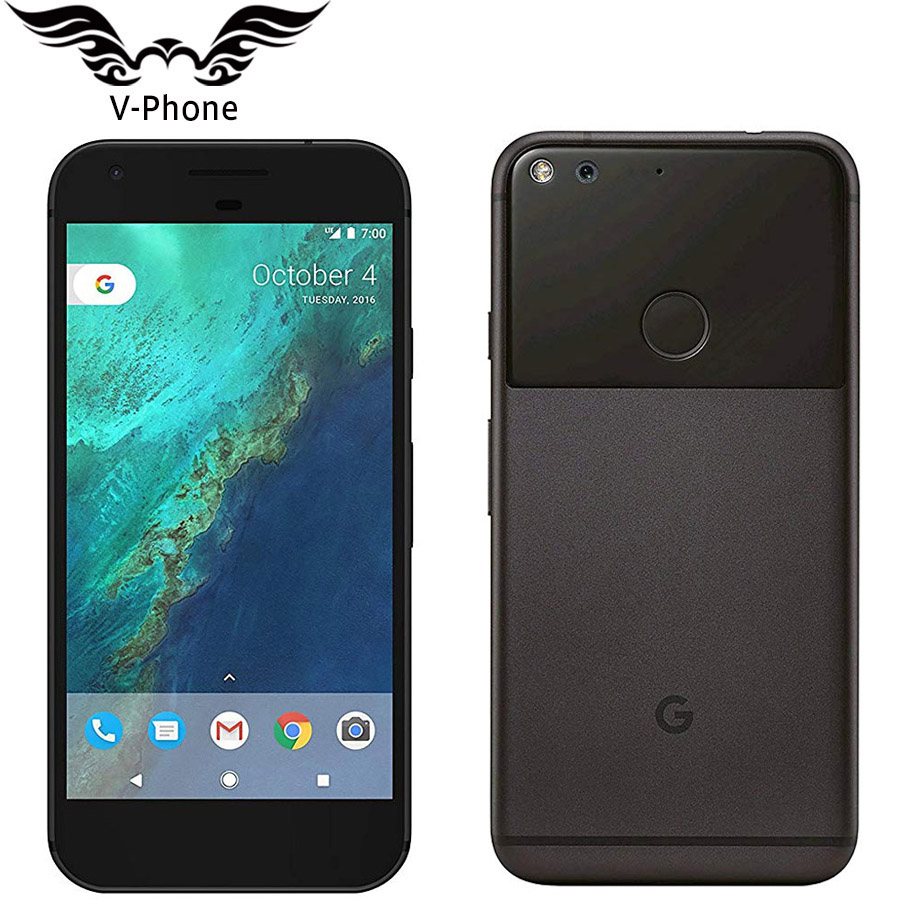 Brand New EU Versione Google Pixel XL 4G LTE Android del telefono Mobile 5.5 ''Snapdragon Quad-Core 4 GB di RAM 32 GB 128 GB di ROM di Impronte Digitali
