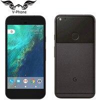 Marca nova versão da ue google pixel xl 4g lte telefone móvel android 5.5 snapsnapsnapdragon quad core 4 gb ram 32 gb 128 gb rom impressão digital