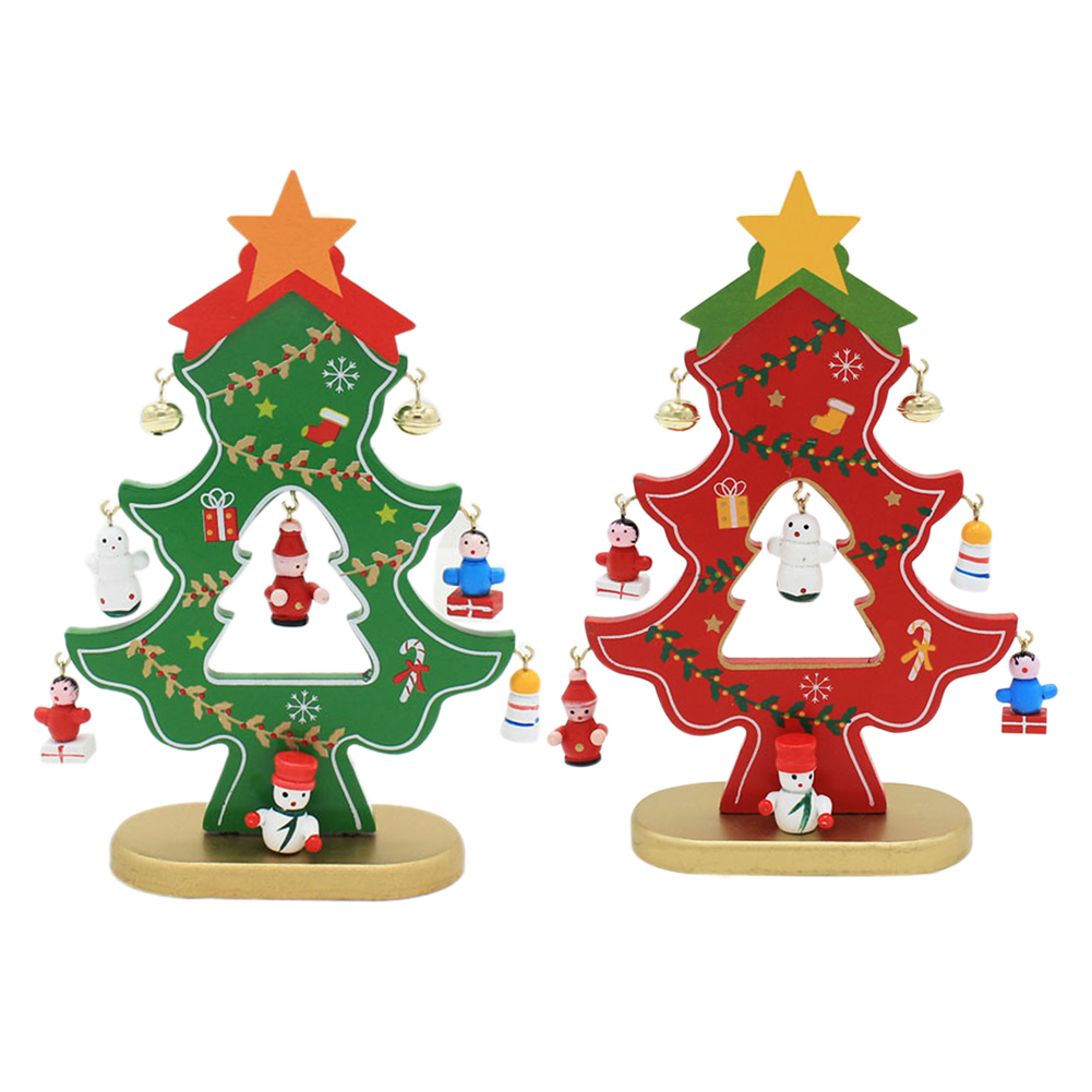 Pc Wooden Christmas Decorations Desk Navidad Tree Snowman Ornaments Decorations For Home Enfeites De Natal In Pendant Drop Ornaments From Home Garden