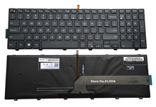 SSEA New keyboard backlit For Dell Inspiron 15 5000 Series 5542 5543 5545 5547 5548 5551 5552 5555 5558 5559 laptop US keyboard