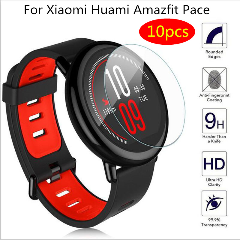 10Pcs/pack Soft TPU Screen Protector for Xiaomi Huami Amazfit Pace smart watch Sport Smart Watch Protective Film accessories-in Smart Accessories from Consumer Electronics
