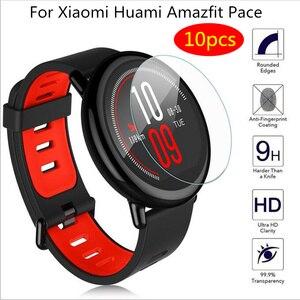 Image 1 - 5/10 sztuk/paczka miękkie osłona na ekran z tpu dla Xiaomi Huami Amazfit tempo smart watch inteligentny zegarek sportowy ochronna akcesoria foliowe