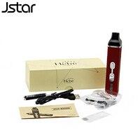 5 יח'\חבילה Jstar Hebe טיטאן 2 יבש ערכת צמחים מאדה e סיגריות LCD טיטאן השני עשבי תיבול יבשים מאדה עט 2200 mAh סוללה תצוגת