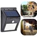 4Packs Solar LED Flood Security Solar Garden Light PIR Motion Sensor 8 LEDs Path Wall Lamps Outdoor Emergency Waterproof Lamp