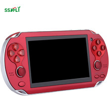 ssdfly 4.3-inch 8gb true color high-definition TFT screen dual joystick game console support recording TF card built-in speaker