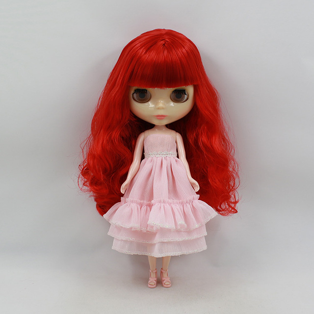 ICY Neo Blythe Doll Red Hair Regular Body 30cm