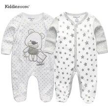 Коллекция года, одежда для малышей хлопковая одежда с длинными рукавами для малышей детский комбинезон, костюм с рисунком ropa bebe, Одежда для новорожденных мальчиков и девочек возрастом 3, 6, 9, 12 месяцев