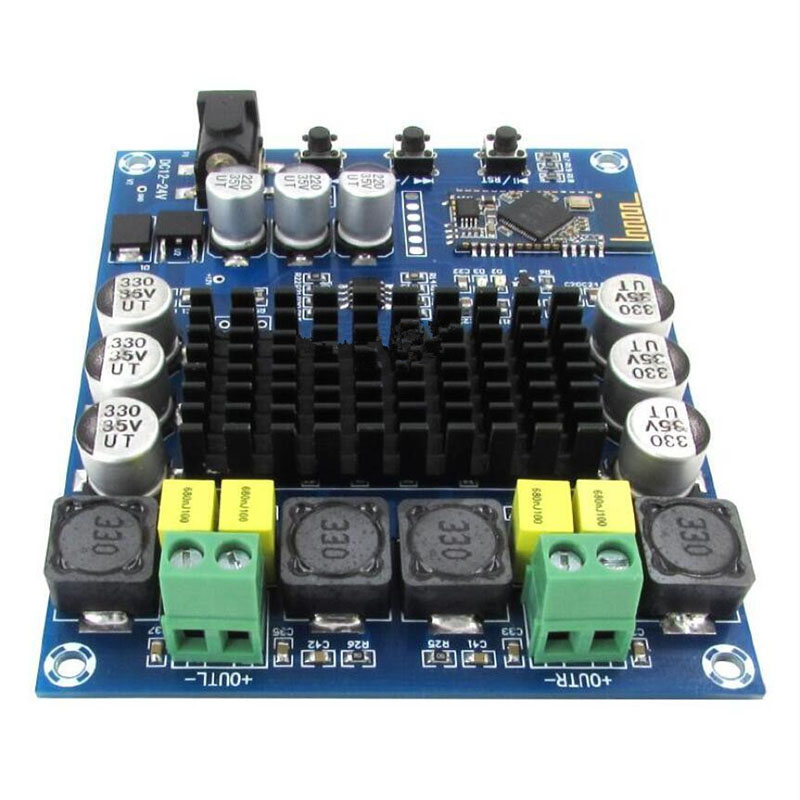 TPA3116D2 <font><b>120W</b></font>+<font><b>120W</b></font> Wireless Bluetooth 4.0 Audio Receiver Digital <font><b>Amplifier</b></font> Board image