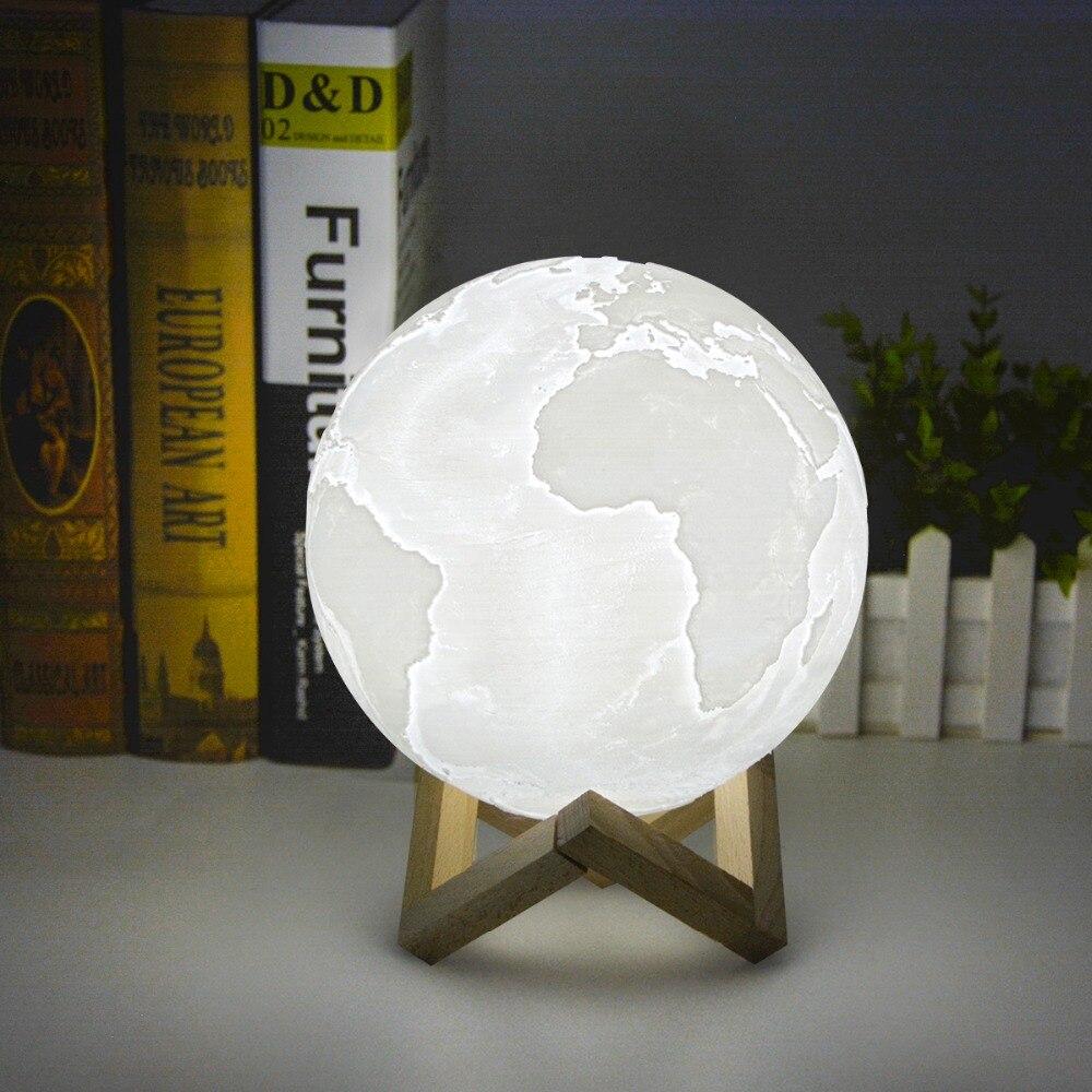 BB SPEAKER 3D Print Earth lamp Moon