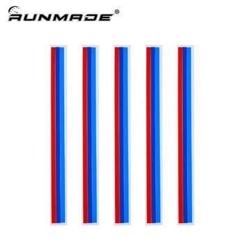 runmade 20*0.5cm/1.5cm 3 Colors Grille Kidney M Sport Front Reflective Strip Sticker Vinyl Decal Badge Emblem For BMW image