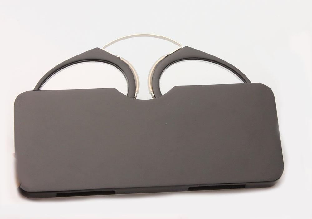 Portabel Klip hidung kacamata presbyopic Dompet Kacamata Baca dengan - Aksesori pakaian - Foto 2