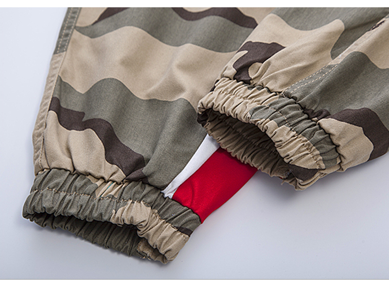 Aolamegs Men Side Strip Track Pants Pocket Pants Men Elastic Waist Sweatpants Casual Streetwear Hip Hop Men High Street Pants (20)