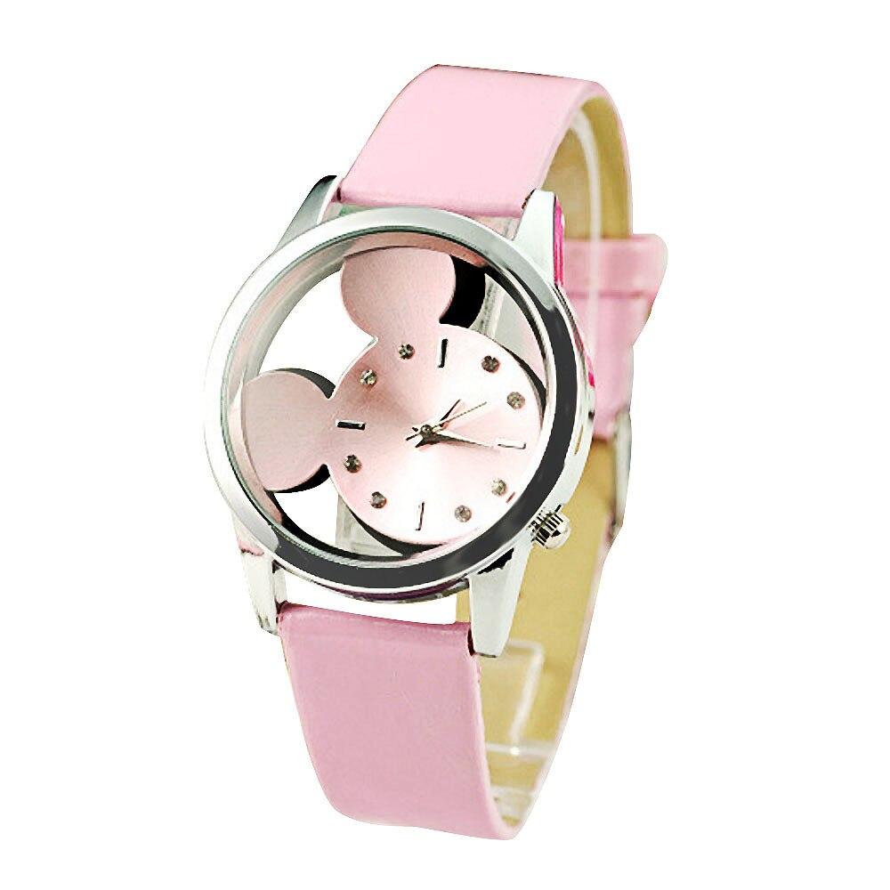 Reloj mujer relojes de marca de lujo de Bayan Kol Saati fina moda patrón lindo chicas pulseras Reloj Zegarek Damski Relogio femenino