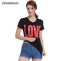2017 Women V Neck T Shirt Women S Hipster T Shirt Female Casual Tshirt Feminina Short