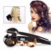 Pro liquidation vente 50% vente Professionnel vapeur cheveux bigoudi fer cheveux bigoudi fers pour cheveux Curling fers Salon de coiffure outils