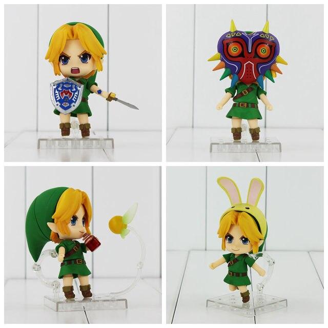 10 cm nuevo La leyenda de Zelda Link figura máscara de Majora 3D Ver ...