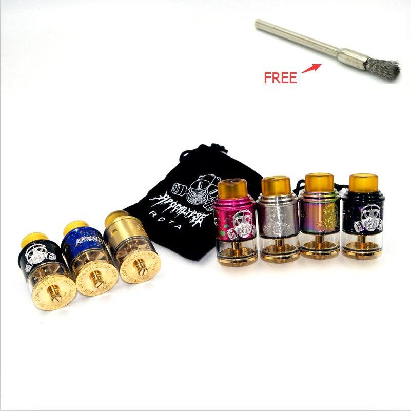 Nuovo Apocalypse GEN 2 RDTA Sigaretta Elettronica 24mm RBA RDA Vape Serbatoio per Atomizzatore Meccanica Mod Vaporizzatore Kit E Sigarette