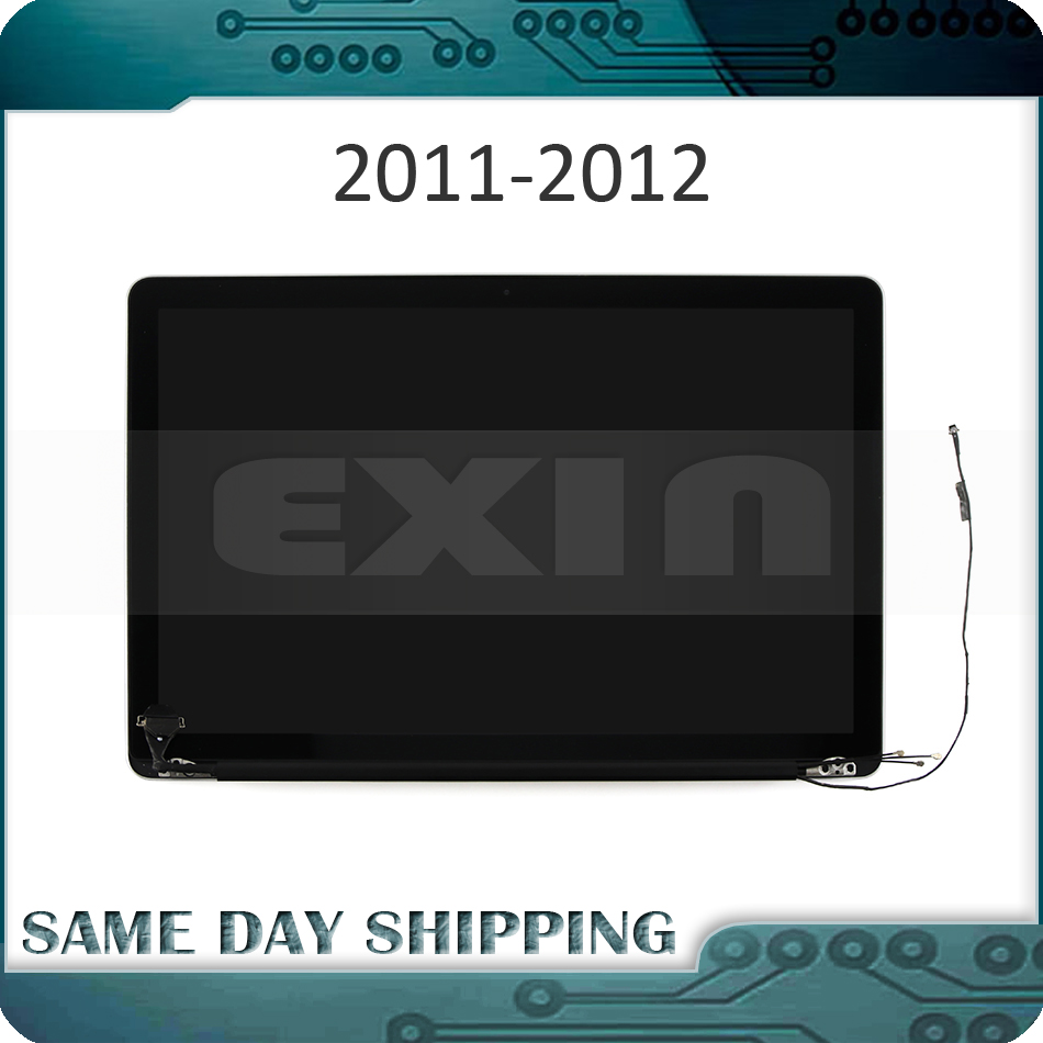 NEW A1286 LCD Assembly for MacBook Pro 15 A1286 Glossy Full LED Screen Display 661-6504 661-5847 661-5848 1440x900 2011 2012 image