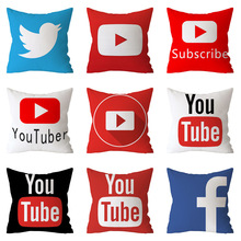 Modern Decorative Pillows Cover Youtube Throw Pillows Case Red Square Cushion Cover Home Decor Sofa Velvet