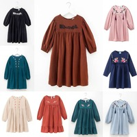 Teens Girls Princess Dress Autumn Winter Girls Kids Dresses For Girl Long Sleeve Party Dresses Christmas Children Costume CA1861
