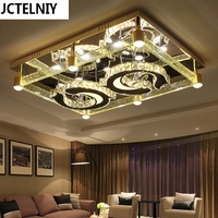 Bubble crystal column lamps led ceiling light rectangle brief modern lighting Can be customized